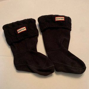 HUNTER Winter Boot Inserts CAble Knit Size Medium